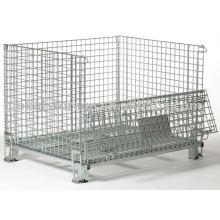 Almacenamiento en almacenes de jaulas de malla metálica de servicio mediano