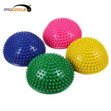 ProCircle PVC Yoga Exercise Half Massage Ball