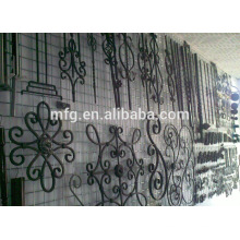 Antirust Gusseisen Zaun Ornamente, Blumen