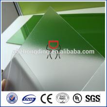 UV-Beschichtung gefrostete Polycarbonatfolie / matte Polycarbonatfolie