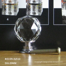 Luxury 25mm Crystal Home Decoration Products Knob for Interior Furniture