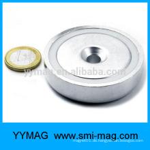 Pot Magnet Magnet Pot Senkung Loch