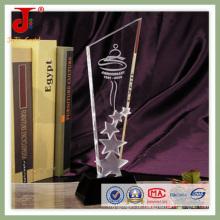 2016 esculpindo cristal águia prêmio (jd-cb-327)