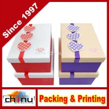 Caixa de presente de papel com OEM personalizado e em estoque (110384)