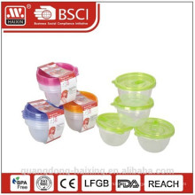 Small Size of Microwave Food Container(4pcs) 0.45L
