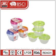 Небольшой размер микроволновой продовольствия Container(4pcs) 0,45 Л