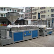Waste plastic PE PS ABS PP NYLON DEKE Plastic Granules Pelleting Machine