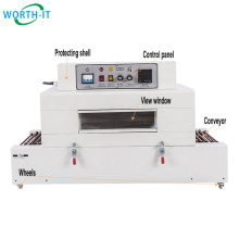 Perfume box cellophane food tray wrapping machine manual shrink wrap machine shirnk wrap tunnel