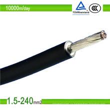 Луженый медный кабель для солнечных батарей постоянного тока Кабель для солнечных батарей 4 мм2