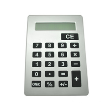 A5 Silver Giant Calculator with Big Key