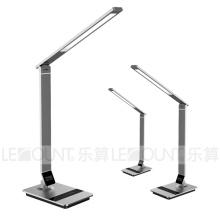 Lumière de table à LED à gradient de gradient en aluminium avec lumière droite (LTB798)