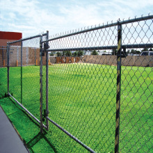 PVC Coated Galvanized Chain Link Wire Mesh Digunakan Chain Link Fence