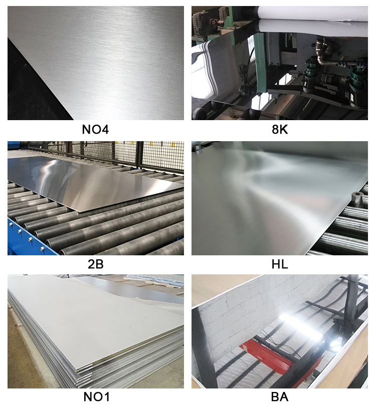 stainless steel plate surface