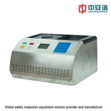Detector de líquido de composição química ultra-Wideband para inspeção do aeroporto