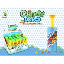 Mini water gun candy toys