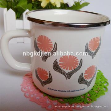 cocina utensilios de cocina impreso esmalte beber tazas