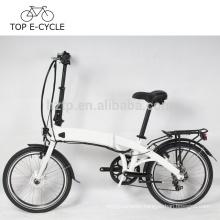 TOP electric bike 250W wheel hub motor green power electric folding bicycle