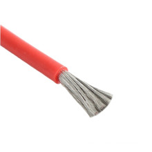 UL3530 22AWG 7/0.26mm colorful silver copper 22awg high temperature wire with certification
