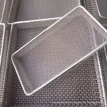 Heat Resistant Inconel 600 601 625 Wire Mesh Filter Basket