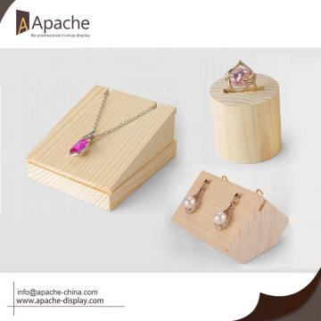 Wooden Countertop Display For Jewelry Shop