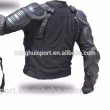 Vêtements d'armure de corps de motocross amovible armure arrière pratique nettoyage veste de moto