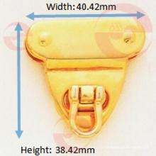 Buena bolsa de triángulo de metal de aleación de zinc Bolso tipo bolsa Cerraduras