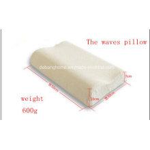 Almofada de pescoço ondulada Hotel Comfort com espuma viscoelástica