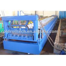 Máquina formadora de cubierta metálica de acero
