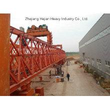 240t-40m Partes separadas del puente que lanza la grúa de pórtico