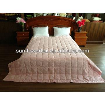 Super Soft Microfiber Down Pink Blanket