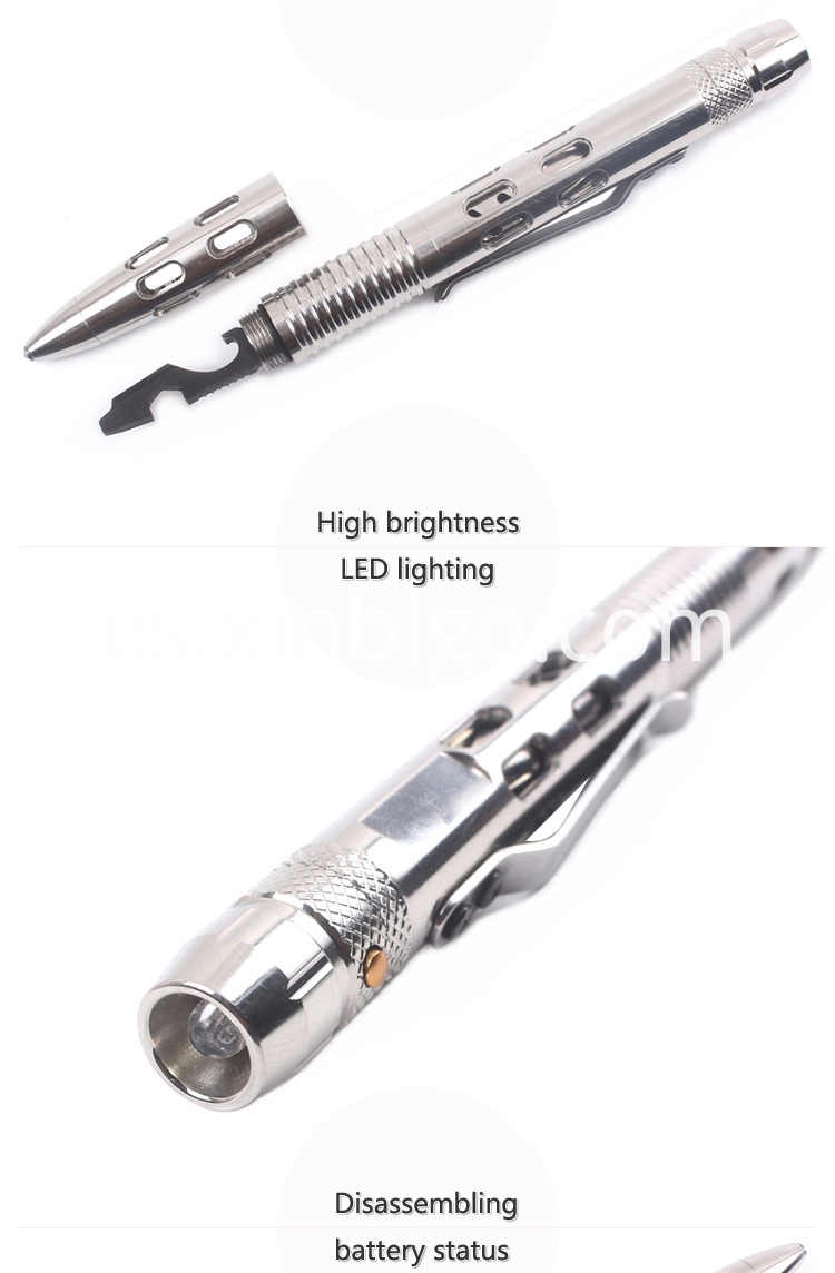 Tactical Pen With Flashlight