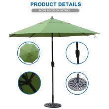 Parapluie de plein air de grand marché de cadre en métal