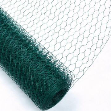 Filet métallique hexagonal enduit de PVC