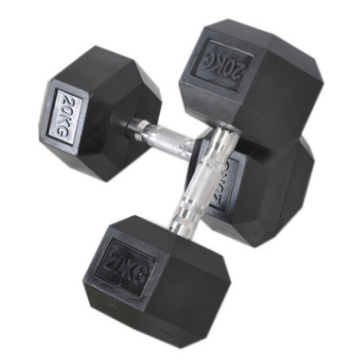 Dumbbell Hexagon Steel dan Dumbbell Plastik