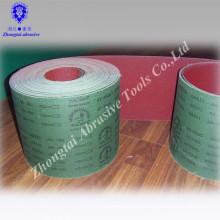 Green Soldier Brand 10cmx30m ALuminum Oxide Abrasive Emery Cloth roll