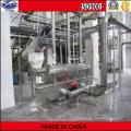 Séchoir à lit fluidisé pour l'industrie alimentaire