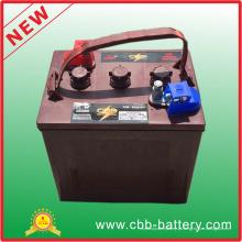 Bateria inundada do ciclo profundo de T105 6V 225ah AGM para o carro de golfe