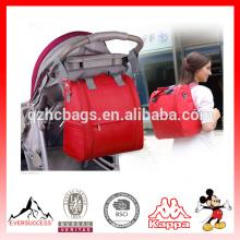 Alta Qualidade Multifuncional Fralda Sacos Bag Fralda Mochila