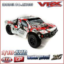 2.4G RC 1/10th 4 X 4 нитро модели автомобиля, большие колеса автомобиля RC