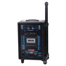 Altavoz de PA portátil con USB, SD, DVD y cassette