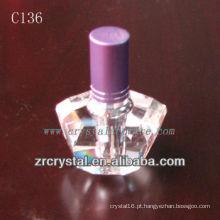 Garrafa De Perfume De Cristal Agradável C136