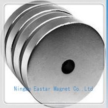 Permanent NdFeB Big Disc Magnet with Zinc Plating