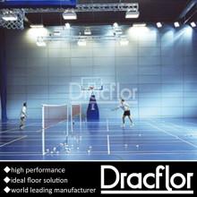 Pavimento de Badminton de piso de esportes profissional PVC Sports