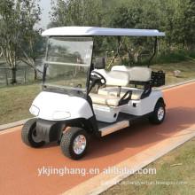 4 assentos movem a gás o carro de golfe da bobina com caixa da carga