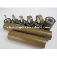 Self Adhesive PTFE Glass Fabric With Silicone Glue Layer