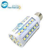 5050 smd led corn light 10w AC220v 90-260v e27 e14 20lm/led warm white cool white led lamp 15w
