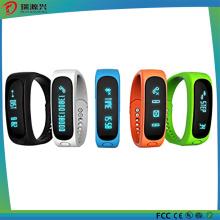 Bracelete esperto de Bluetooth com monitor do sono da função do podómetro da caloria