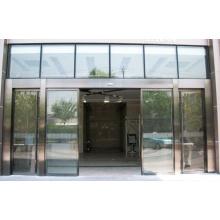 Porta deslizante de vidro insonorizada de design moderno para hotel