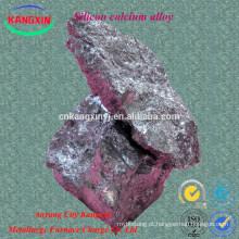 Aço de Anyang que faz ligas de silicone do cálcio do aditivo para a fabricação de aço
