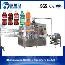Máquina de llenado automática de la bebida carbonatada de la botella del animal doméstico del acero inoxidable